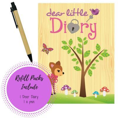 Refill Deer Diary Pack