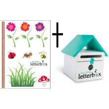 Combo Deal – GREEN Dear Little Letterbox & Wall Decal