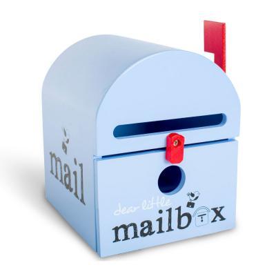 Blue Dear Little Mailbox