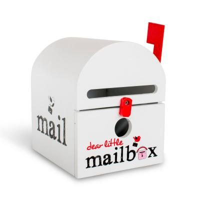 White Dear Little Mailbox