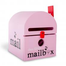 Pink Dear Little Mailbox WITH LITTLE IMPERFECTIONS