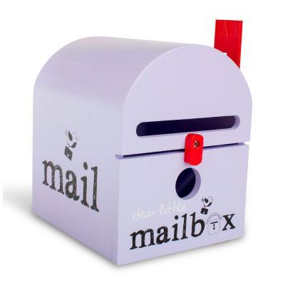Purple Dear Little Mailbox