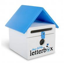 Blue Dear Little Letterbox