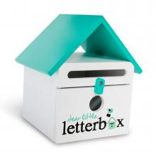 Aqua Dear Little Letterbox