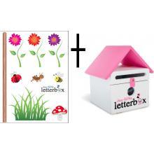 PINK Dear Little Letterbox & Wall Decal