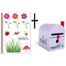 Combo Deal – PURPLE Dear Little Mailbox & Wall Decal