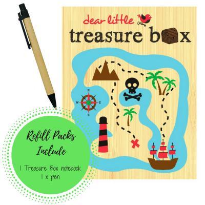 Refill Treasure Box Pack