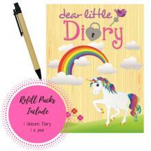 Refill Unicorn Diary Pack
