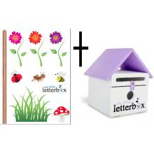 VIOLET Dear Little Letterbox & Wall Decal