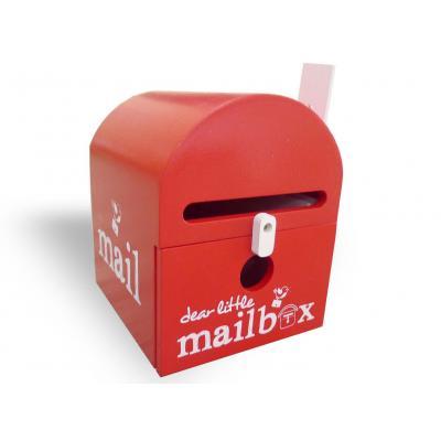 Red Dear Little Mailbox